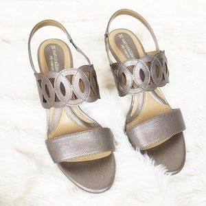 NATURALIZER Yanette Leather Sandals